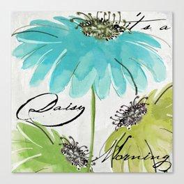 Daisy Morning I Canvas Print