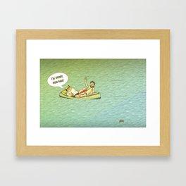 RUM HAM!! Framed Art Print