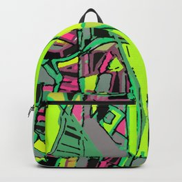 Abstract Map- UMASS Boston, Dorchester MA Backpack