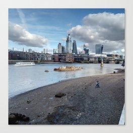 London South Bank. Canvas Print