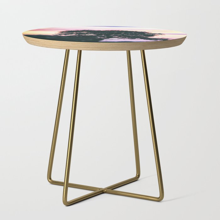 A English Sunset Side Table
