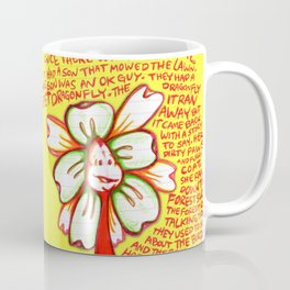 """Storyteller"" Flowerkid Coffee Mug"