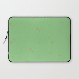 Mint Green Starburst Pattern Laptop Sleeve