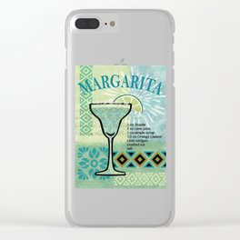 Margarita Clear iPhone Case