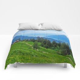 Above Interlaken Comforters