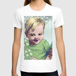 Babies Blue T-shirt