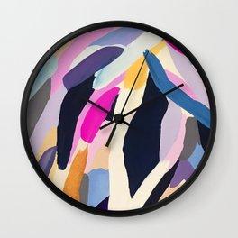 inner space flowers Wall Clock