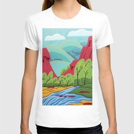 Canyon Flow T-shirt