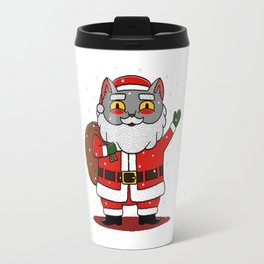 Santa Paws Travel Mug