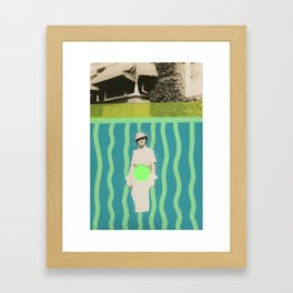 Fashion Abstraction Framed Art Print