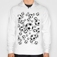soccer Hoodies featuring Soccer by joanfriends