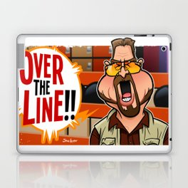 Over the Line Laptop & iPad Skin