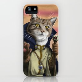 Sorcerer Cat iPhone Case