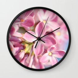 Lilac pink 039 Wall Clock