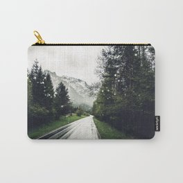 Down the Road - Mountains, Forest, Austria Carry-All Pouch