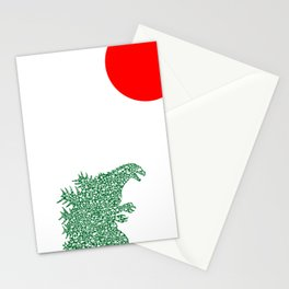 Japanese Monster Stationery Cards