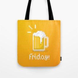 Pixel Friday Tote Bag