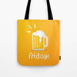 Pixel Friday Tote Bag