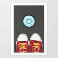 Casual Friday at Stark Industries Art Print