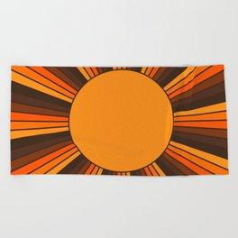 Golden Sunshine State Beach Towel