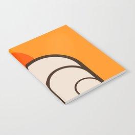 Birch Sunset Notebook
