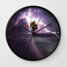 Super Bears - ACTION! the Mighty One Wall Clock