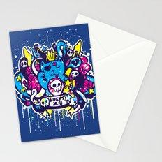 Unlucky Kitty Stationery Cards