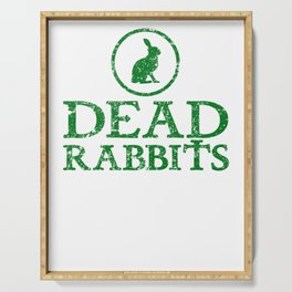 New York City Dead Rabbits Gang Vintage Serving Tray