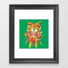 Sweet Monster Framed Art Print