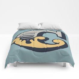 'The letter C' Design Motif Comforters