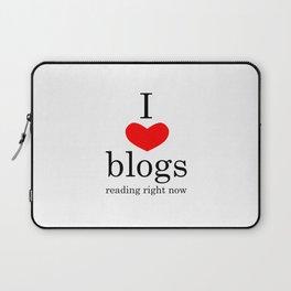 I heart blogs Laptop Sleeve