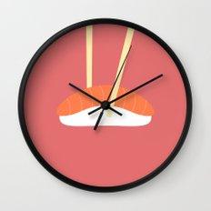 #16 Sushi Wall Clock