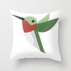 Muttervogel Throw Pillow