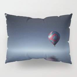 Hot Air Balloon Reflection Pillow Sham