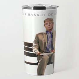 Forrest Gump Parody Of Donald Trump Travel Mug