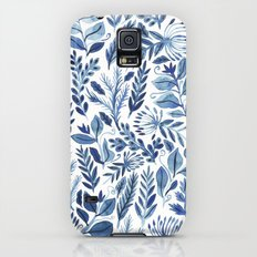 indigo scatter Slim Case Galaxy S5
