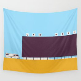 A1A Car Wash Wall Tapestry