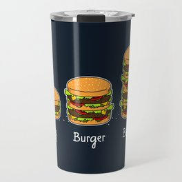 Burger explained 2. Burg. Burger. Burgest. Travel Mug