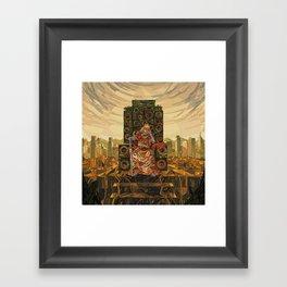 HR-FM - King Deluxe Framed Art Print