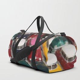 Vintage Retro Design Illustration Cuba Cars mini Duffle Bag