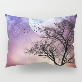 Moon and Tree Pillow Sham