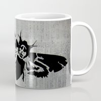 silence of the lambs Mugs featuring Silence of the Lambs by Kat Phelps