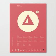Bitsland Canvas Print