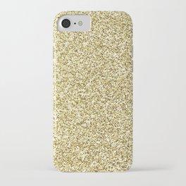 gold glitter iPhone Case