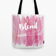 Pink Vanity Decor, Makeup Brush Illustration, Watercolour Tote Bag