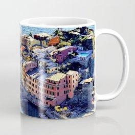 Cinque Terre Vernazza Village Mediterranean Coast, Italy Coffee Mug