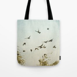 A Feeling of Change Tote Bag