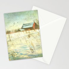 Winter Meadow Stationery Cards