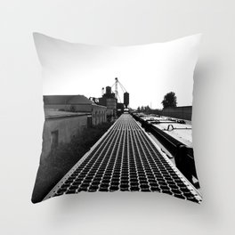 South Tacoma scenery Throw Pillow