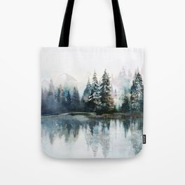 Winter Morning Tote Bag